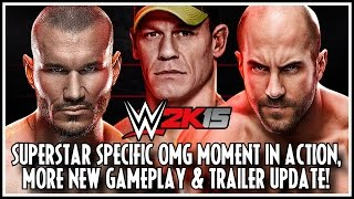WWE 2K15 New OMG Finisher In Action, More New Gameplay