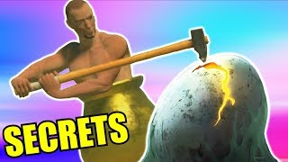 Gaming Secrets - Getting Over it Real Hidden Reward Easter Egg & Alternate / Bad Ending