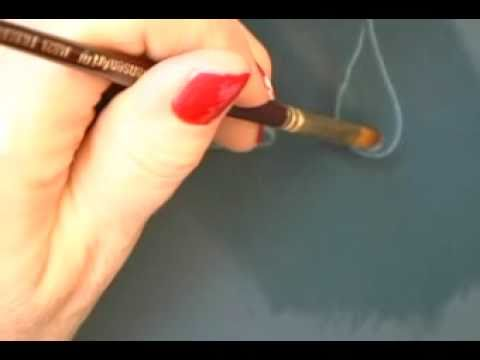 how to make acrylic paint look like oil