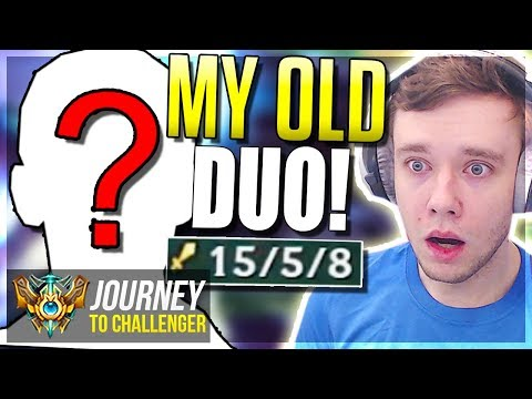 MY 100% WINRATE DUO IS BACK!! TRYHARD TIME - Journey To Challenger | League of Legends