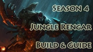 League Of Legends Reworked Jungle Rengar Build / Guide