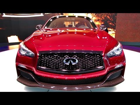 2015 Infiniti Q50 Eau Rouge - Exterior and Interior Walkaround - 2014 Detroit Auto Show
