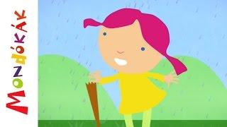 Esik eső, csepereg