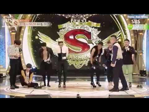 في  يرقص بلكعب  العالي Vietsub] [BangtanBoysVN] 150516 BTS on Star King - V Dancing in High Heel