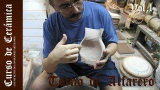 Cerámica: Como hacer un torno alfarero I