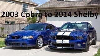 2003 Cobra To 2014 Shelby