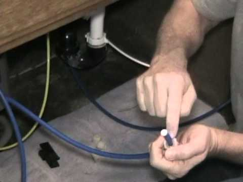 How To Install A Ice Line From A Reverse Osmosis Water