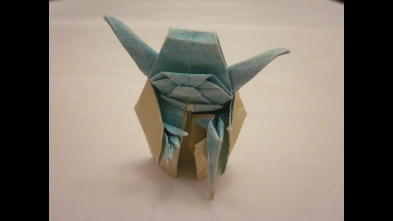 how to make origami yoda 5 steps