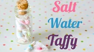 Salt Water Taffy Polymer Clay Candy Bottle (Jar) Tutorial