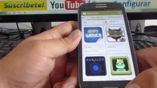 Como Abrir Play Store En Samsung Galaxy S3 Español