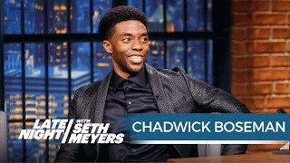 Chadwick Boseman on Playing Black Panther in Captain America: Civil War