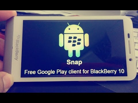 Install Snap,Amazon App store,APTOIDE,1Mobile Market (HOW TO INSTALL) on Blackberry Q10 Z10 Q5 Z30