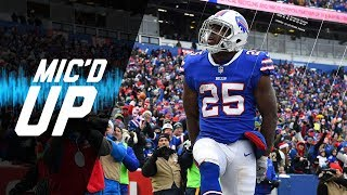 """LeSean McCoy Mic'd Up vs. Dolphins """"Tyrod, You Faster Than Me?"""" 