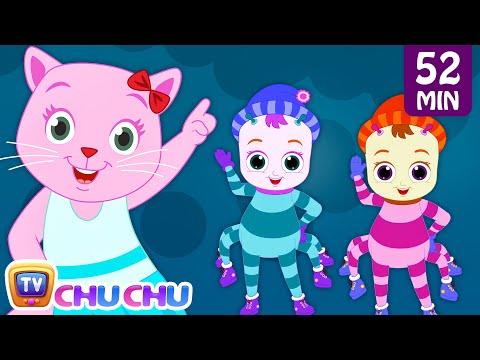 Incy Wincy Spider Nursery Rhyme With Lyrics - Cartoon Animation Songs for Kids | Cutians | ChuChu TV