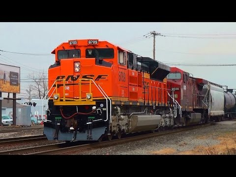 Railfanning Ridgefield Park / Bound Brook 12/26/2013: Crudes, NYSW Locals, Unexpected Chases & More!