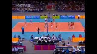 2004 Athens Olympic Games Volleyball Women Final China