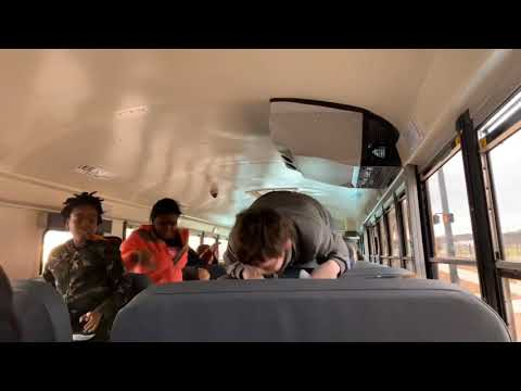 My Bus had a paper ball fight 😭 (extremely funny‼️)