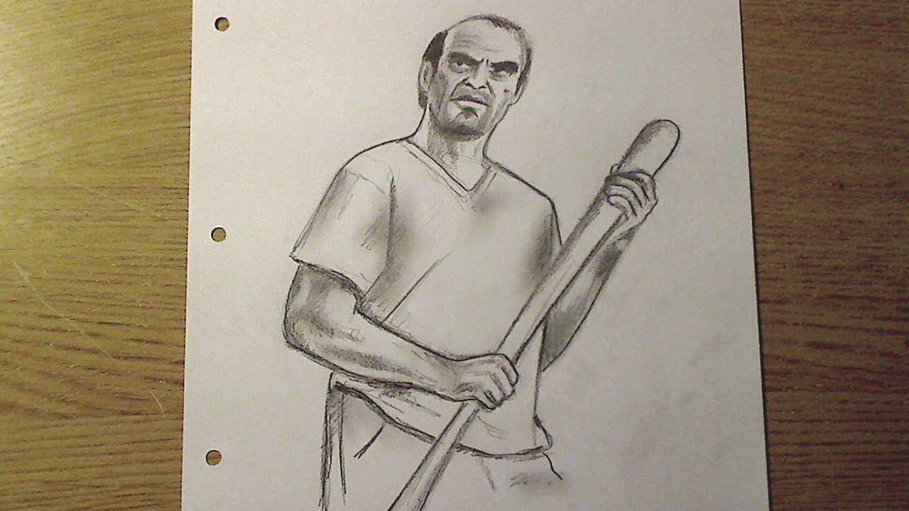 gta 5 michael drawing - photo #4