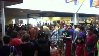 Circle Of Life Flash Mob Linfield Choir