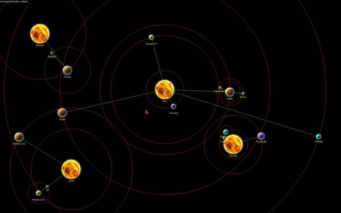 solar system paths - photo #47