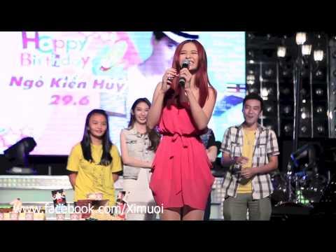 Đông Nhi nói giọng 3 miền tại party Ngô Kiến Huy YouTube