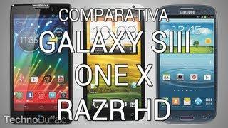 Comparativa, Versus Y Análisis Del Galaxy SIII, One X Y