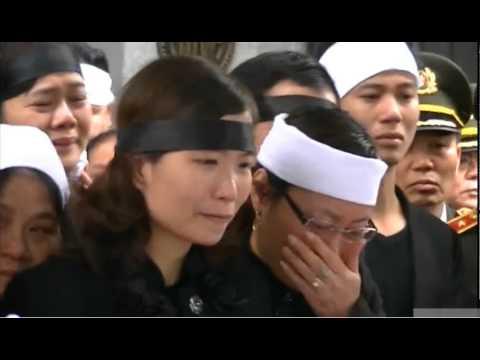 Cận cảnh tiễn đưa Thượng tướng Phạm Quý Ngọ về Thái Bình