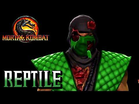 Mortal Kombat 9 - Classic Reptile 3D Model - drakoff.ru