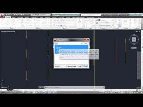 AutoCAD 2013 Tutorial | Understanding Layer Properties | InfiniteSkills