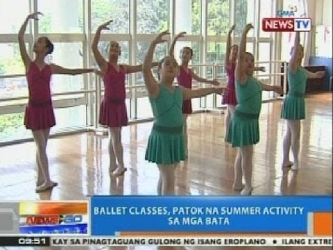 NTG: Ballet classes, patok na summer activity sa mga bata