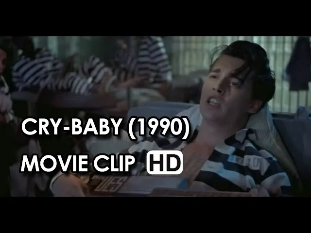 "Johnny Depp in ""Teardrops are Falling"" Clip from Cry-Baby (1990) HD"