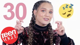 Maddie Ziegler on Her Major Crush on Zac Efron & Her Obsession with Harry Styles  | Teen Vogue