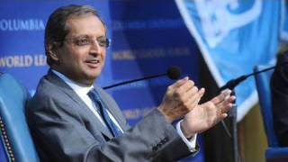 Vikram Pandit at World Leaders Forum, Columbia University