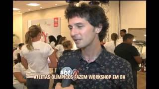 Atletas ol�mpicos fazem workshop em Belo Horizonte