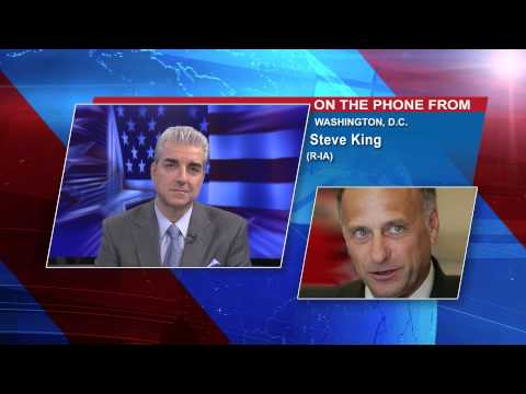 Newsmax: Rep. Steve King: IRS Has 'Chutzpah' to Stall Congressional Probe