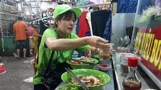 """Ăn Tô Bún Mắm Chợ Cây Gõ Q6 Ngon """"cạn lời"""" với LÝ HƯƠNG em ruột Lý Hùng - Sài Gòn Ngày Nay"""