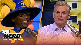 Eric Dickerson & Colin Cowherd discuss the Rams' NFC Championship win over Saints | NFL | THE HERD
