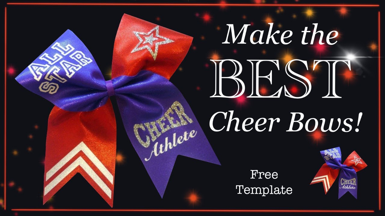 how to make a cheer bow professional standard with lisa pay youtube. Black Bedroom Furniture Sets. Home Design Ideas
