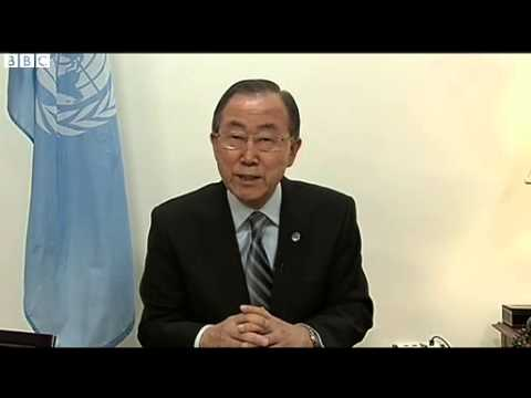 Ukraine crisis  UN's Ban Ki moon urges de escalation in Crimea