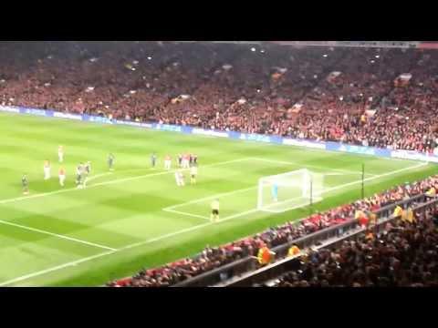 Manchester United vs.Olympiakos Pireus 19.03.2014 - Robin van Persie 1:0