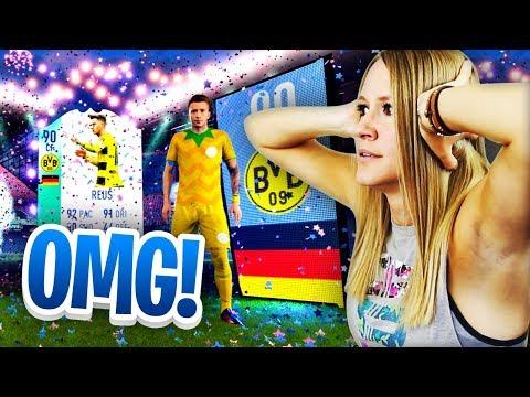 I PACKED FUT BIRTHDAY REUS!! SOOO MANY COINS! FIFA 18