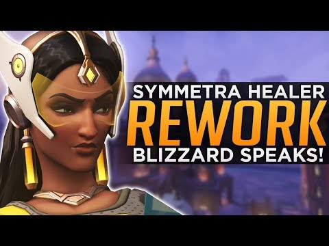 Overwatch: Sym Reworked to HEALER!? - Genji Deflect BUFFED!