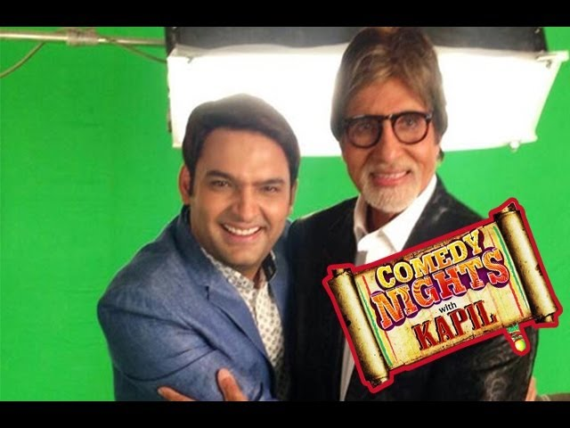 Exclusive Photos : Comedy Nights With Kapil | Amitabh Bachchan And Kapil Sharma | Full Episode