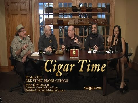 CIGAR TIME SHOW #17 PARTAGAS BLACK LABEL REVIEW by Cigar Cigars Panel