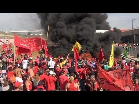 Brazil protesters threaten to continue demos during World Cup