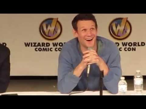 Matt Smith at Comic-Con | Full Panel St. Louis 2014
