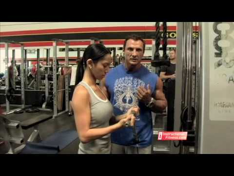 Instructional FItness - Cable Curls