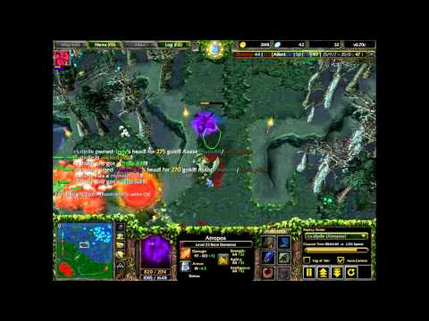 Dota Atropos (Bane Elemental) Best Rampage Ever