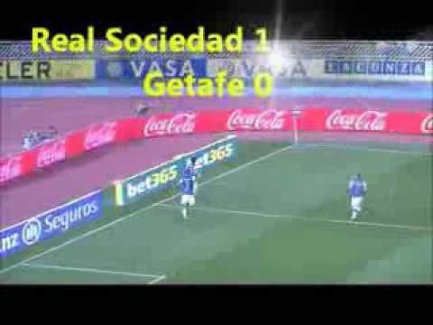 Real Sociedad 2 - 0 Getafe, 42' Carlos Vela, 70' Haris Seferović, 17.08.2013