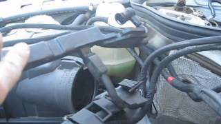 1994 Mercedes E320 Engine Wiring Harness Replacement (W124